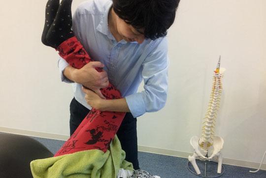奈良県葛城市のぎっくり腰施術