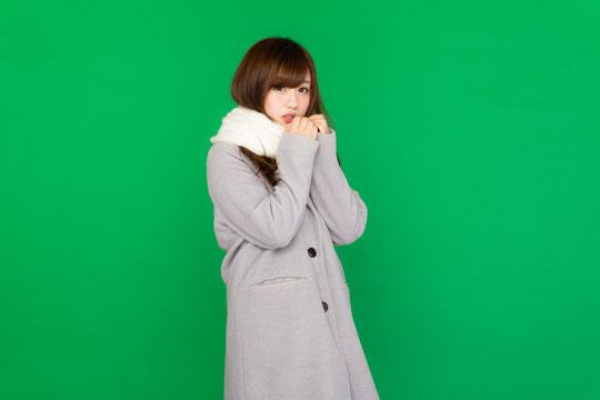 低体温で肩こりの奈良県御所市の女性
