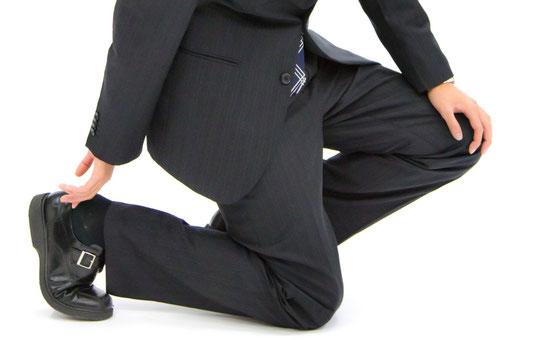 合わない靴で腰が痛い奈良県大和高田市の会社員