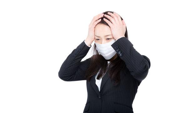 風邪をひいて腰が痛い奈良県大和高田市の女性