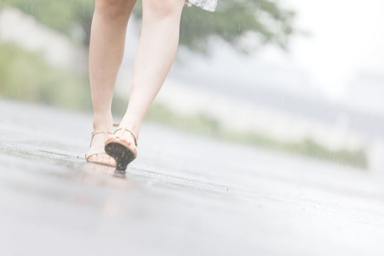 つま先立ちで腰痛が治った奈良県大和高田市の女性