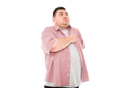 太っていると腰椎ヘルニアになりやすい理由