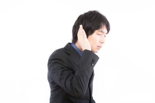 肩こりで耳の後ろが痛い奈良県葛城市の女性職員