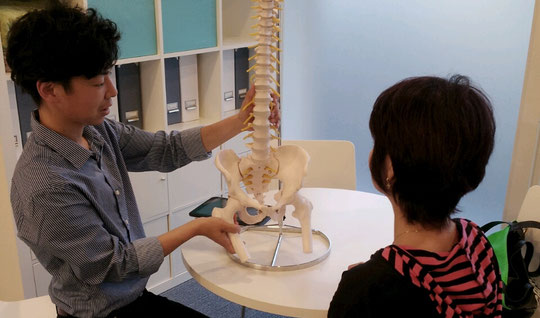首の痛みの改善方法