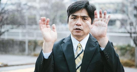 頚椎椎間板ヘルニアで筋力が低下した奈良県御所市の男性