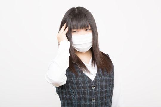 首の付け根がチクチクと痛い奈良県大和高田市の女性