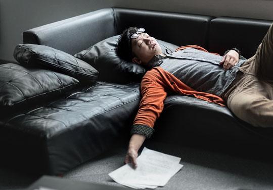 寝相が悪く寝違えで首が痛い奈良県葛城市の男性