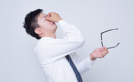 疲労で腰痛になった奈良県葛城市の男性