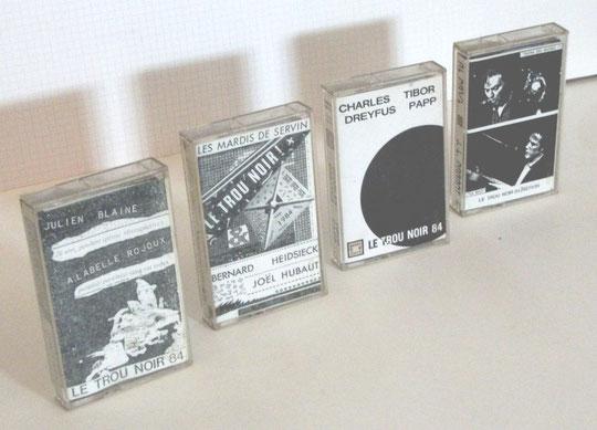 Les 4 cassettes audio