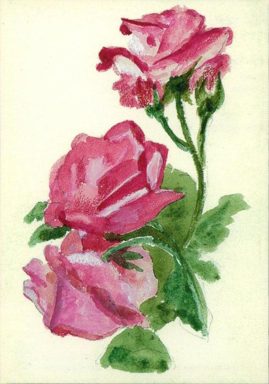 Рисунок Вел. Княжны Марии