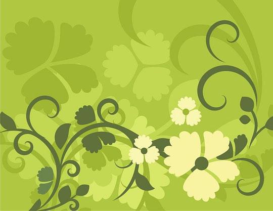 Цветы в векторе скачать бесплатно