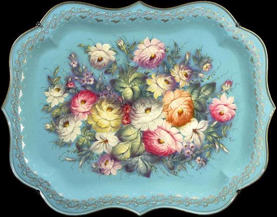 Жостовские цветы фото