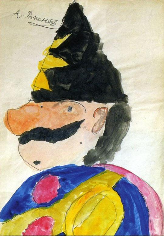 Рисунок Цесаревича Алексея