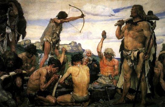 Arbeitsteilung in der Steinzeit, Entwicklung des Beruf Schamane