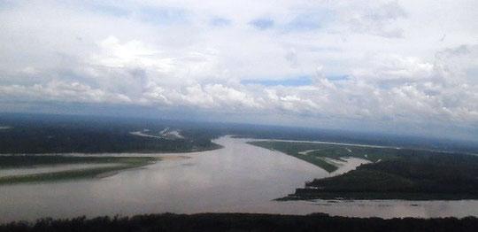 Amazonas mit Nebenarm