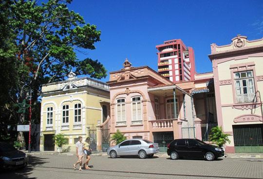 Typische Bauten in Manaus