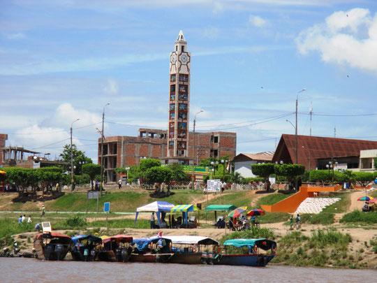 Stadtzentrum von Pucallpa