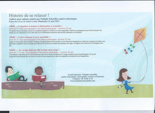 Entrée libre - Inscriptions Médiathèque Le Parnasse Saint-Louis