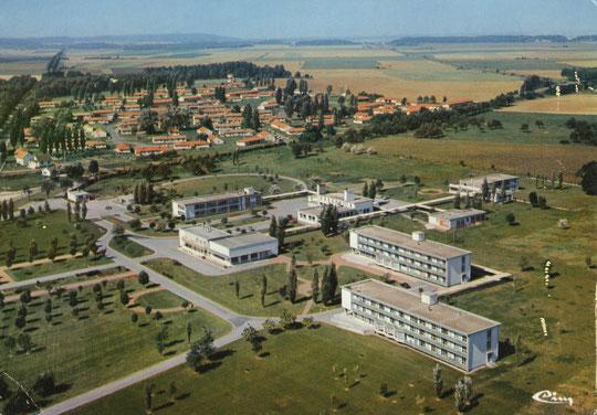 Laon, Maison de retraite et Cité Marquette