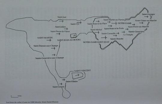 Laon en 1200