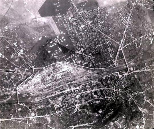 Laon gare après la seconde guerre mondiale