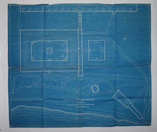 Bauplan für den eventuellen Standtort kleiner Eutiner See