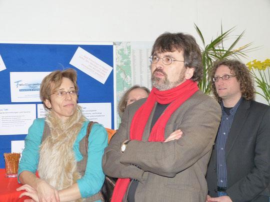 MdB Rene Röspel  bei seiner Begrüßungsrede