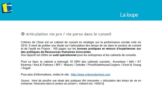 La Loupe - Magazine interne de BPI Group