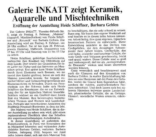 Weser-Kurier 05.02.1991