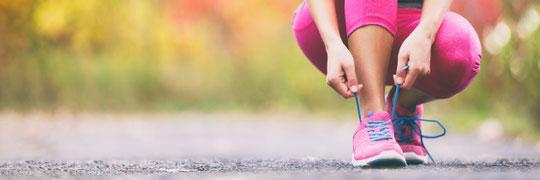 kiné sport course à pied