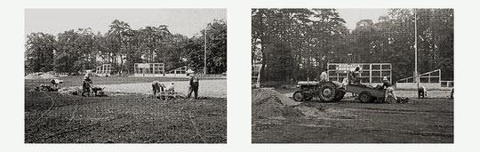 馬事公苑造成工事