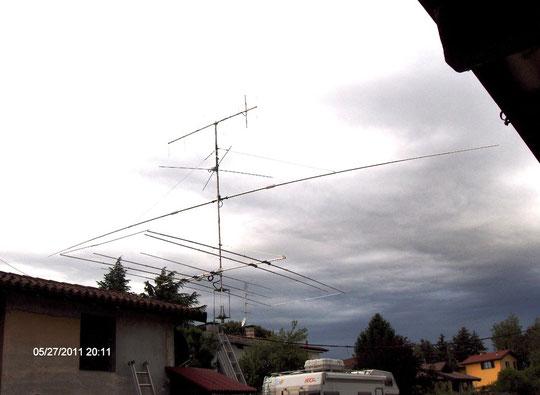 nuove antenne OB1-40 + OB6-3M  (H.M.) DOMANI LE ALZO...OGGI 27_05_2011