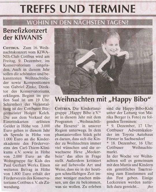 """Dez. 2011 """"Weihnachtliche Hexerei"""" Cottbusser Weihnachtsmarkt"""