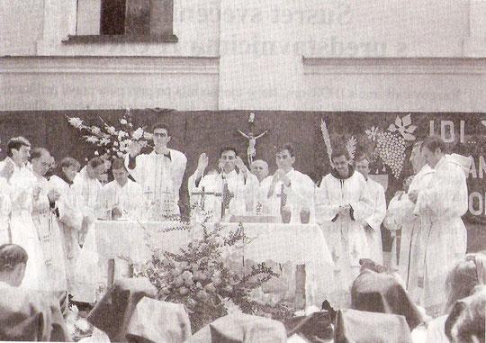 S mlade mise u Tolisi 21. srpnja 1996.