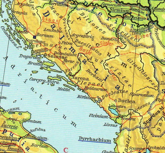Dalmacija u vrijeme Rima