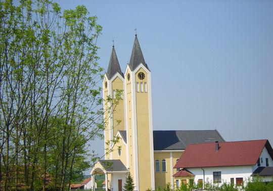 Katedrala u Balegovcu, sagrađena u vrlo kratkom vremenu