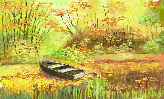 Peinture de notre ami Robert Rampal