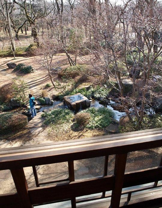 3月1日(2013) 高橋是清邸から見下ろす武蔵野(江戸東京たてもの園で2月28日に撮影:小金井市)