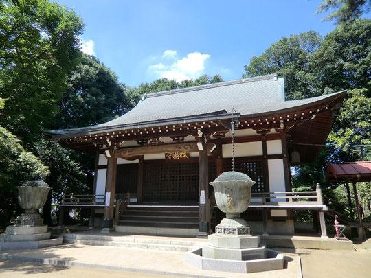 ●祇園寺の本堂(2012年の夏に撮影)