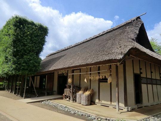 9月30日(2012) 旧神山家住宅主屋(小平ふるさと村:9月27日撮影)