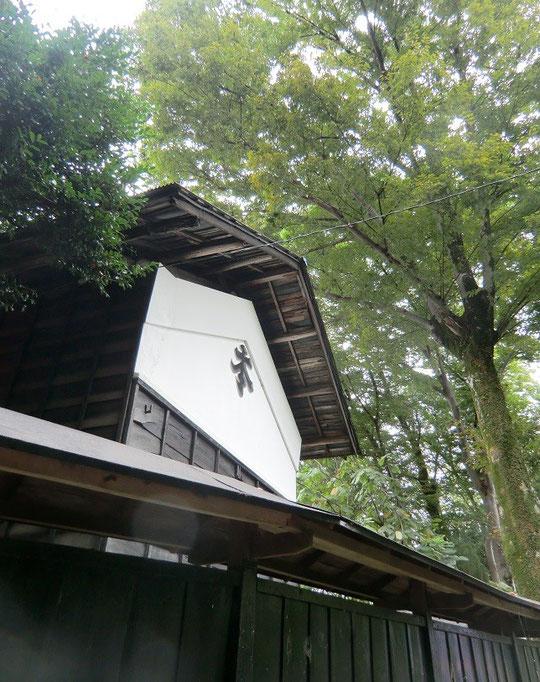 9月24日(2013) けやきの大木と蔵:お鷹の道(国分寺市)