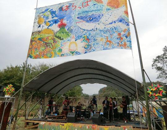 11月2日(2013) 森の楽団:ボロクルタムタム楽団(第25回武蔵野はらっぱ祭り、風の原ステージ)