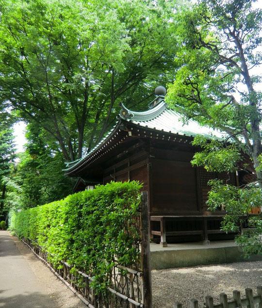 5月27日(2013) 雲洞山月窓寺の観音堂(武蔵野市吉祥寺)