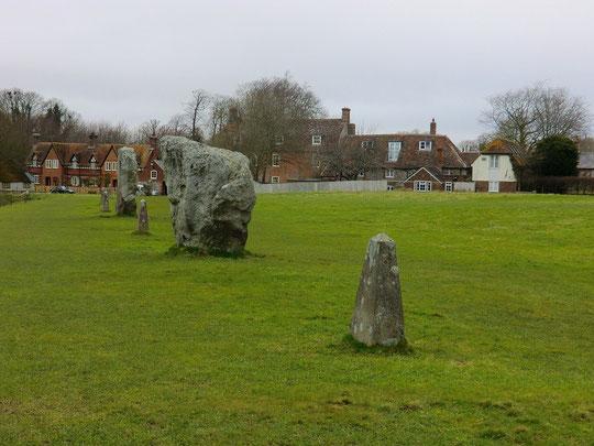 ストーンサークルの石(英国コッツウォルズ)