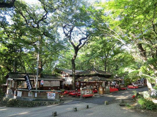 9月15日(2012) 木々に囲まれたお蕎麦屋さん(神代植物公園の近く:調布市)