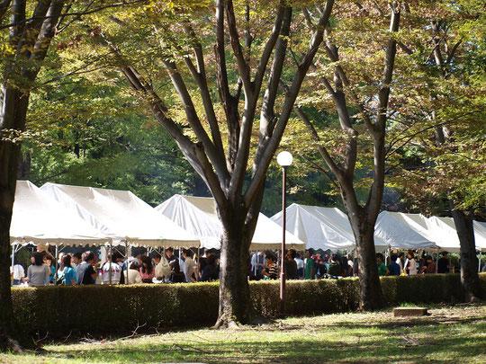 ●10月21日、22日に行われたICU祭(2018)。大学内の博物館{湯浅八郎記念館)にスタンプが置かれました。