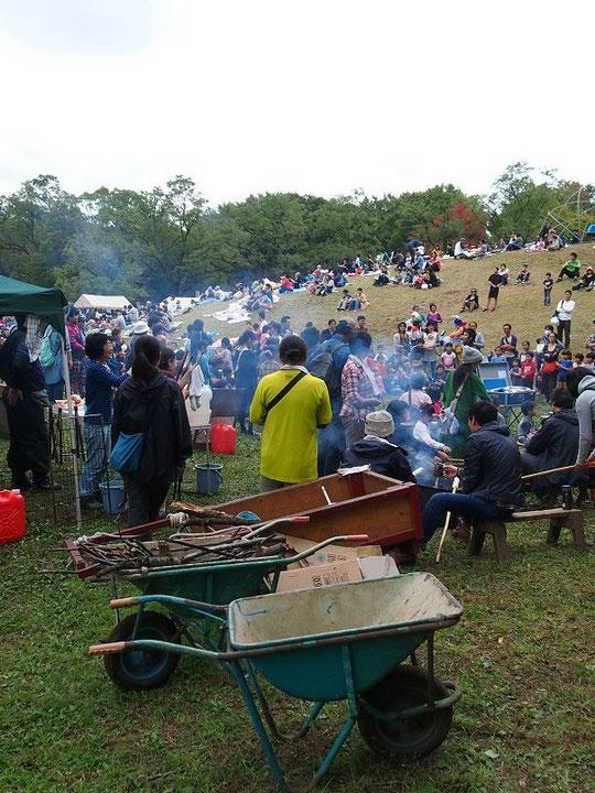 11月3日(2014) はらっぱ祭り:武蔵野公園で11月2日に撮影