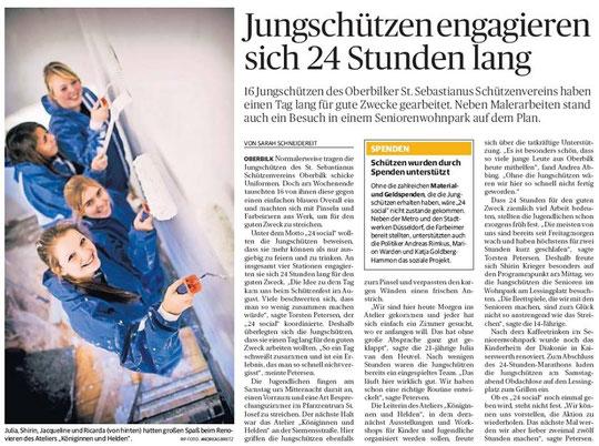 Rheinische Post Düsseldorf vom 10.11.2014