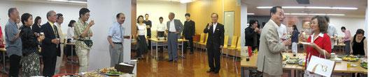 舞台にも出演した桑原渋谷区長からごあいさつ。