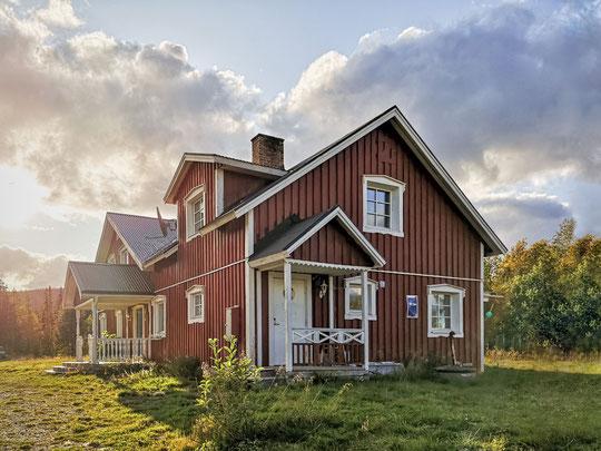 Outdoor- und Aktivurlaub Schweden Lappland - Villa am See